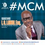 A Spot-light on Mr. Babatunde .I. G. Lawal Esq, Managing Partner Harlem Solicitors And A Role Model to Young Nigerian Lawyers